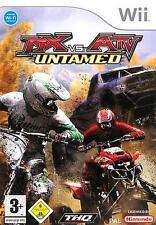 Nintendo WII MX VS ATV UNTAMED Cross Corsa Top Condizione