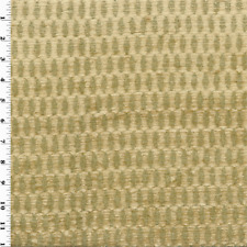Chenille Hummarrock Golden Beige Home Decorating Fabric, Fabric By The Yard