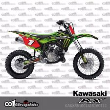GRAPHICS DECALS STICKERS FULL KIT FOR KAWASAKI KX 85/100 2014-2017