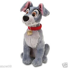 "TRAMP PLUSH  Disney Store Movie  LADY AND THE TRAMP  16"" PLUSH  NWT AUTHENTIC"