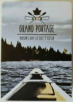 Hudson's Bay Grand Portage Playing Cards HBC Canoeing Riverside NEW SEALED