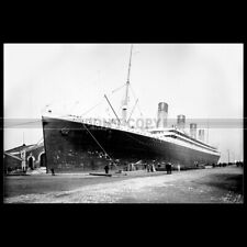 Photo B.003648 RMS OLYMPIC WHITE STAR LINE 1912 PAQUEBOT OCEAN LINER STEAMSHIP