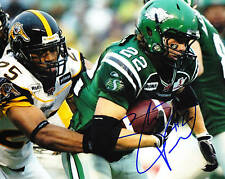 Stu Foord CFL Signed Photo Saskatchewan Roughriders