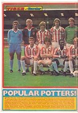 STOKE CITY 1979-1980 ORIGINAL HAND SIGNED TEAM GROUP WITH 6 X SIGNATURES