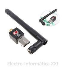 Mini Adaptador Usb Antena Wifi 150mbps Chip Ralink Rt5370-Desde España