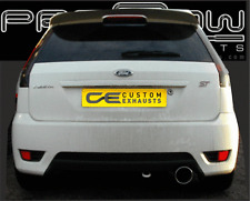 FORD FIESTA ST EXHAUST BACK BOX - CUSTOM BUILT STAINLESS STEEL - FREE FITTING P1