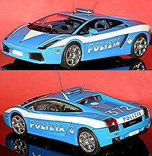 Lamborghini Gallardo Polizia Italy blau blue 1:43 autoArt