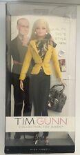 Tim Gunn Barbie Doll #1, Yellow jacket, NRFB