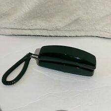 Vintage Classic Radio Shack Corded Telephone Pulse n Tone Forest Green Color