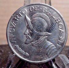 CIRCULATED 1983 UN CUARTO DE BALBOA PANAMA COIN (82316)