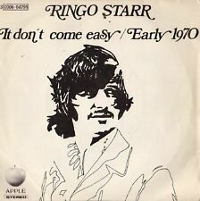 Ringo Starr It Don't Come Easy / Early 1970 7 Apple Records, Apple Records - ...