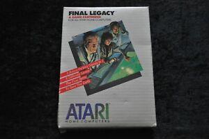 Final-Legacy Atari XE/XL Boxed RX8067