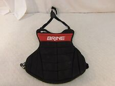 Children Teenager Brine Red Black Elastic Bands Lacrosse Chest Pad 33856