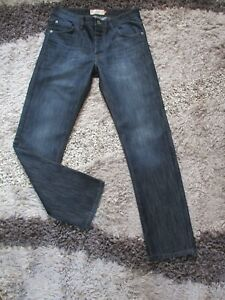 Mens NEXT Blue Denim Jeans Straight Fit Size 30R BNWOT AWESOME