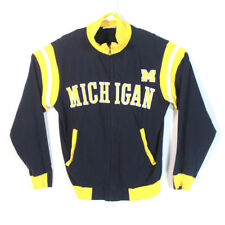 Russell Athletic Men's Michigan Wolverines Team Issue Track Jacket Size M