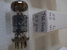 EF800 TELEFUNKEN <> A  USED OLD STOCK VALVE TUBE 1PC J17C