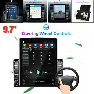 9.7'' Android8.1 Vertical Screen HD 2.5D Bluetooth Car MP5 Player GPS Navigation