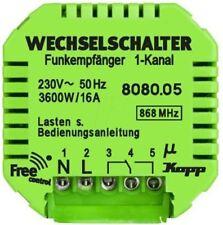 Green 16 A Flush Mount Light Switch Green, 1 Way, 1 Gang, 230 V ac IP20 1