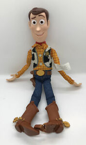 Disney Toy Story Pull String Talking Woody- Works!! (No Hat) View Photos