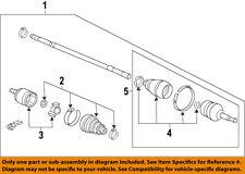 HONDA OEM 11-13 Odyssey Front Drive-CV Shaft Axle Assy 44305TK8A31
