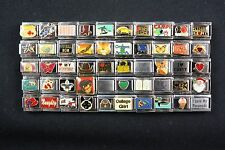 Italian Charms 50 assorted Stainless Steel Wholesale Lot 9mm (C50-22)