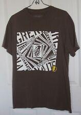 Grenade T-Shirt Medium Gray Tagless Short Sleeve 100% Cotton Graphic Tee