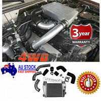 Top Mount Intercooler Kit For Nissan Patrol GU 4.2 TDi 03-07 TD42 4.2L Bolt on