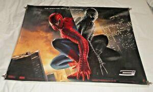 Spider-Man 3 Original UK Quad Movie Cinema Poster Teaser 2007 Tobey Maguire