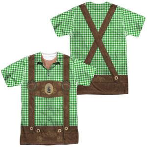 OKTOBERFEST LEDERHOSEN COSTUME Adult Men's Graphic Tee Shirt SM-3XL Halloween