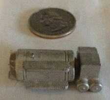 Pewter Metal Truck Fuel Tank With Air Tanks 1/50 Scale
