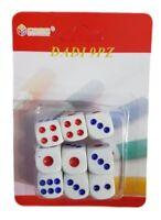 Set 9 Dadi Da Gioco Società Giochi Carte Divertimento Feste Natale dfh