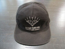 Diamond Supply Snap Back Hat Cap Black White Shine Forever Skater Streetwear 90s