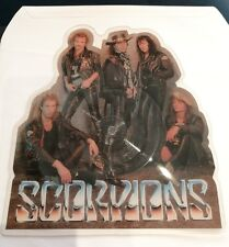SCORPIONS - LOVEDRIVE 1989 EMI LIMITED EDITION SHAPED PICTURE DISC RARE/NEW