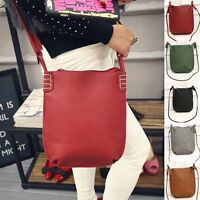 New Women Vintage Leather Satchel Handbag Shoulder Bag Tote Messenger Cross Body