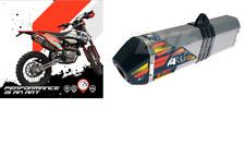 ART MARMITTA SCARICO COMPLETO FULL EXHAUST ALUX/INOX KTM EXC F 500 2017