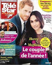 TELE STAR n°2153 06/01/2018 Harry&Meghan/ Gall&Berger/ Horn&Karembeu/ Vuillemin