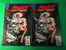 Magnus Robot Fighter #57 ERROR edition and regular ed. 1995 Valiant Comics.