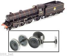 NUOVO ORIGINALE Hornby x6493 Thompson B1 classe treno a vapore CHIARO RUOTE Set
