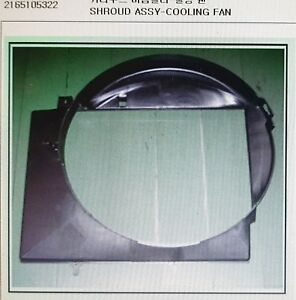 Genuine Coolong Fan Shroud Assy for SSANGYONG MUSSO, MUSSO SPORTS #2165105322