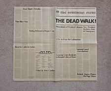 DAY OF THE DEAD The Dead Walk NEWSPAPER Prop Replica GEORGE ROMERO Savini DAWN