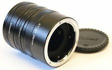 Vivitar Tubo di estensione automatica Set at-21 36mm, 20mm e 12mm OM MOUNT NO. u6615