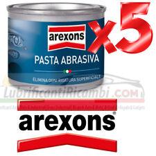 AREXONS PASTA ABRASIVA ELIMINA RIMUOVI SEGNI RIGATURE GRAFFI - 5 Pezzi Offerta
