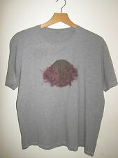 ANGEL SKULL T-SHIRT cotton top EXTRA LARGE XL PAINT BALL PAINTBALL GREY