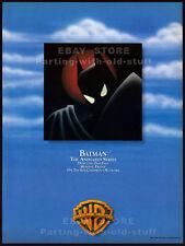 BATMAN: The Animated Series__Orig. 1992 Trade print AD_debut promo__Warner Bros.