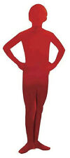 I'm Invisible Child Red Disappearing Man Costume Size Medium 8-10