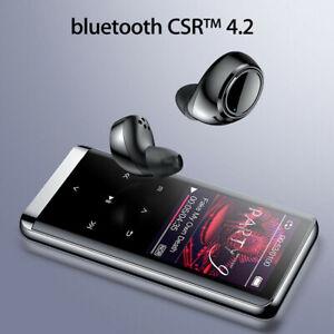 Mini Bluetooth MP3 Player HIFI Music Speakers MP4 Media FM Radio Walkman