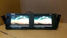 "Marshall Electronics V-MD72 Dual High Resolution LCD V-MD72-3GSDI 7""inc"