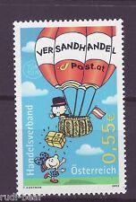 Österreich Nr. 2445  **  Postbote im Ballon stellt Paket zu