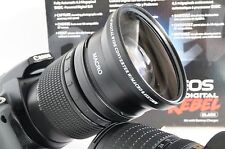 New .43x HD4 Wide Angle Macro Lens for Canon EF EF-S 18-200mm 28-135mm 28-200mm