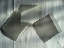 5 x 5  325 mesh  3 pack SS screen 50 micron openings